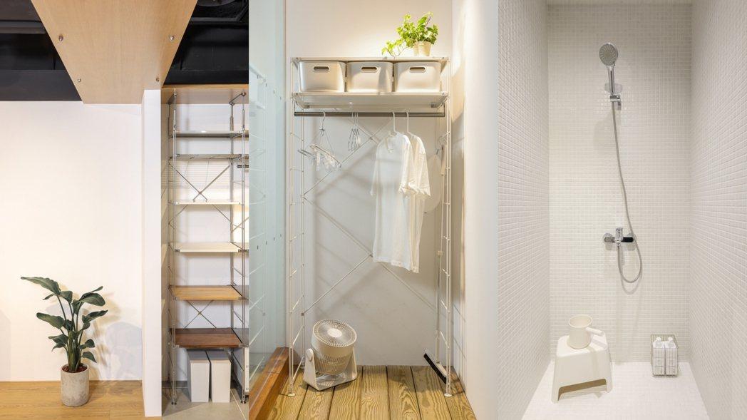 MUJI RENOVATION空間改造企劃展提供各式居家空間提案。 圖/無印良品...