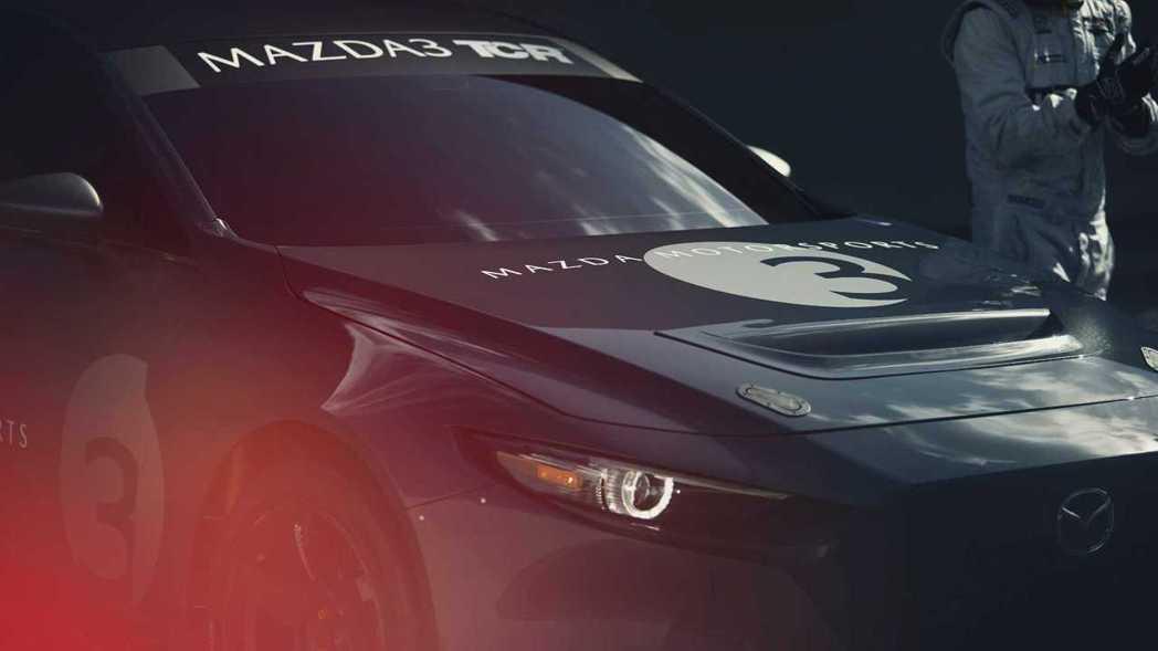 Mazda 3 TCR賽車計畫因為疫情影響而取消。 摘自Mazda