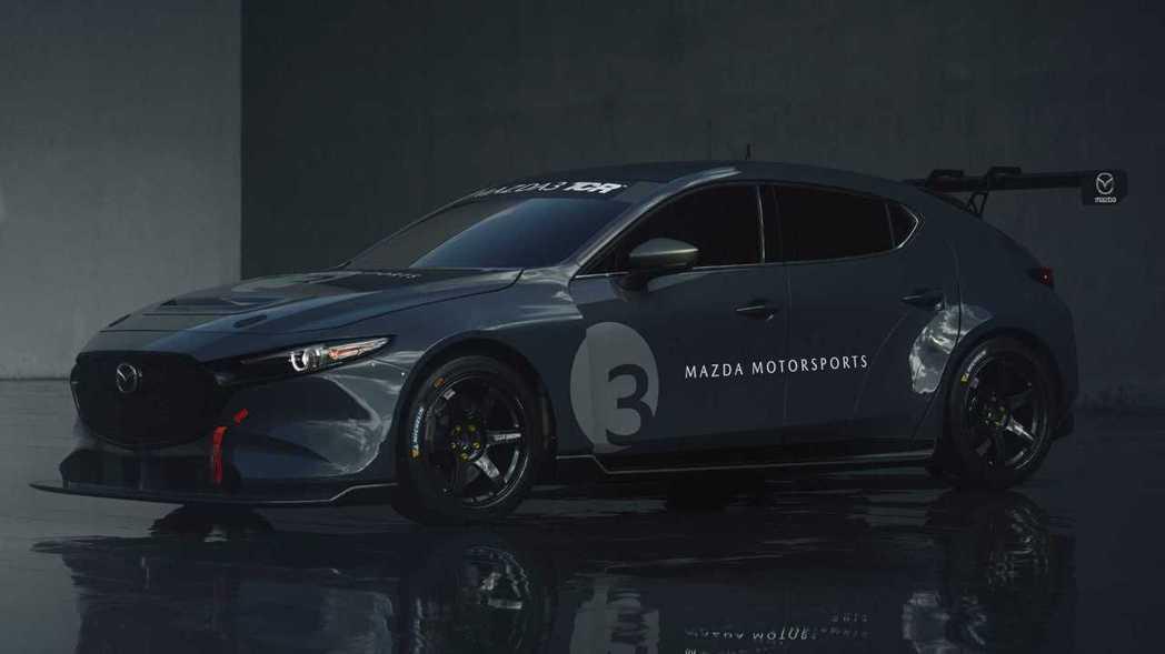 Mazda 3 TCR。 摘自Mazda