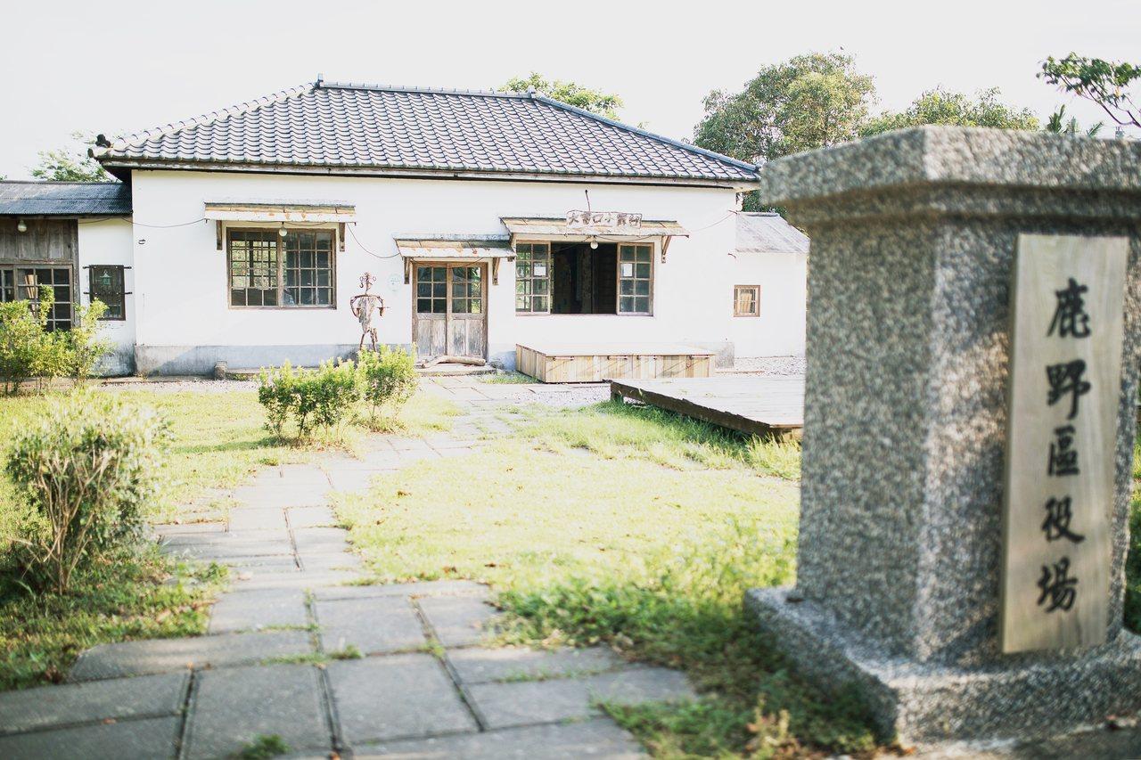 鹿野役場見證百年前日本人,有意在鹿野建立純日本人的移民村。 圖/羅紹平 攝影