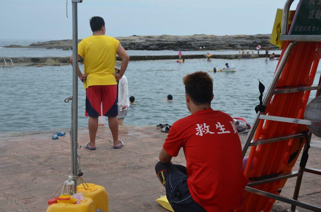 根據筆者在海邊救援的經驗,水性不好、沒有判斷水域是否安全,是較常見的溺水原因。 圖/聯合報系資料照