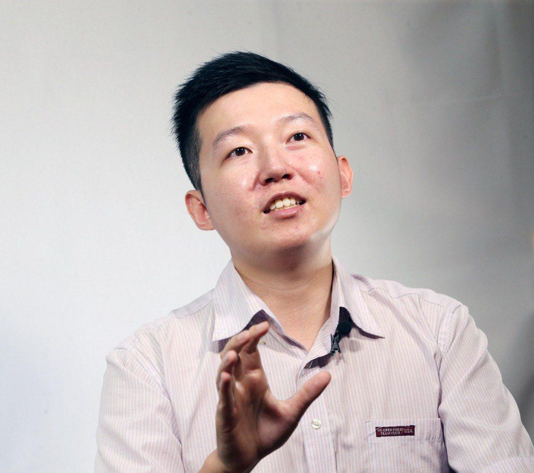 32歲的美股投資達人施雅棠, 記者邱德祥/攝影
