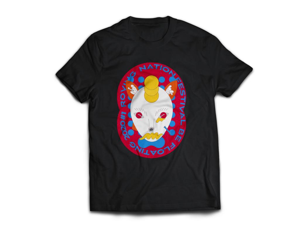 週邊商品T-shirt。 圖/漂遊者森林音樂祭提供