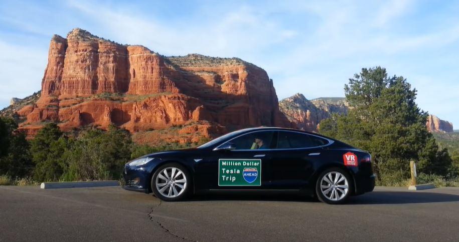 截自Million Dollar Tesla Trip