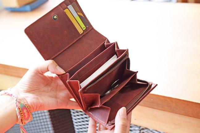 TIDY皮夾回歸,植鞣短夾募資活動今開跑。 圖/聯合數位文創提供