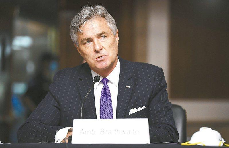 布瑞斯威特是川普政府一年內的第四位海軍部長。 美聯社
