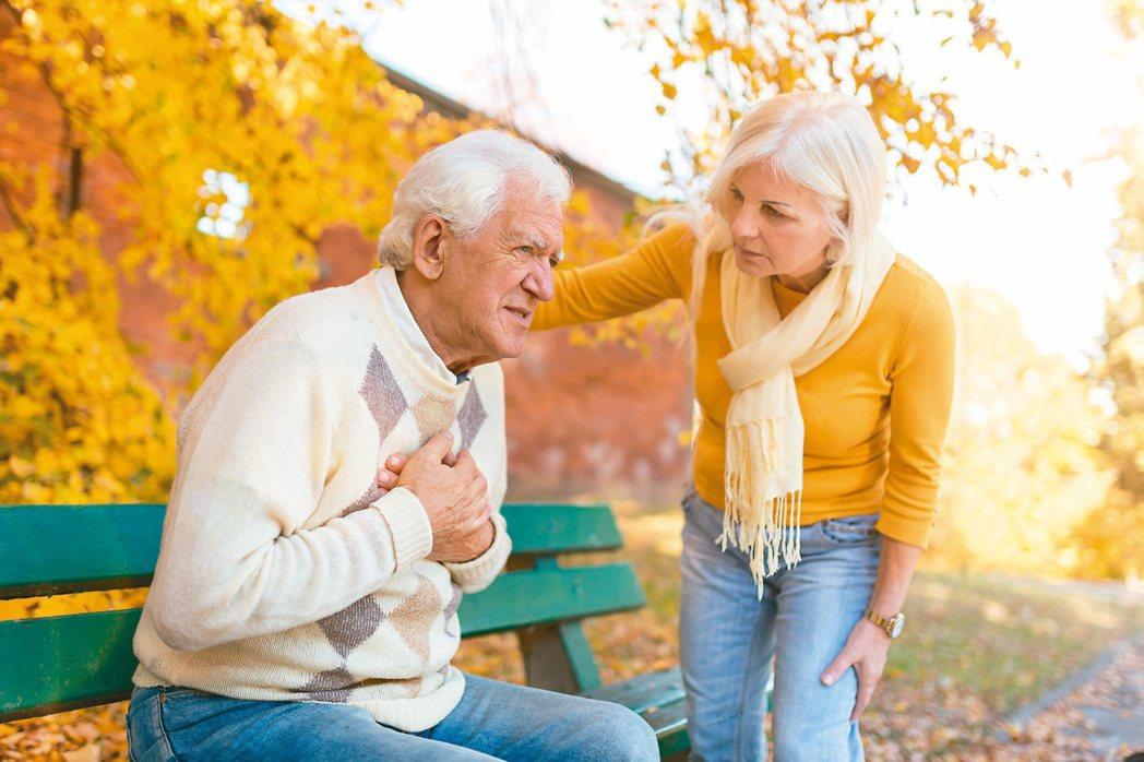 人一天約要呼吸2萬次,若肋骨斷掉,只要呼吸就痛,且斷掉的肋骨可能位移刺傷內臟。圖...