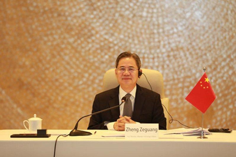 大陸外交部副部長鄭澤光。圖/大陸外交部