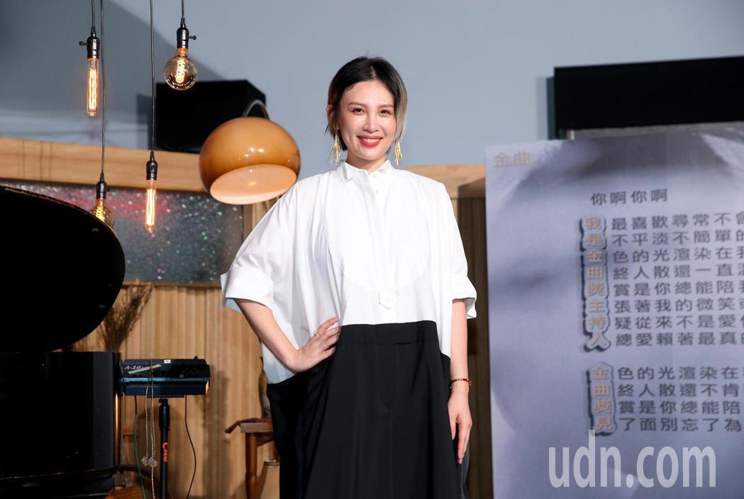 第31屆金曲獎正式公布典禮主持人為魏如萱(娃娃)。記者余承翰/攝影