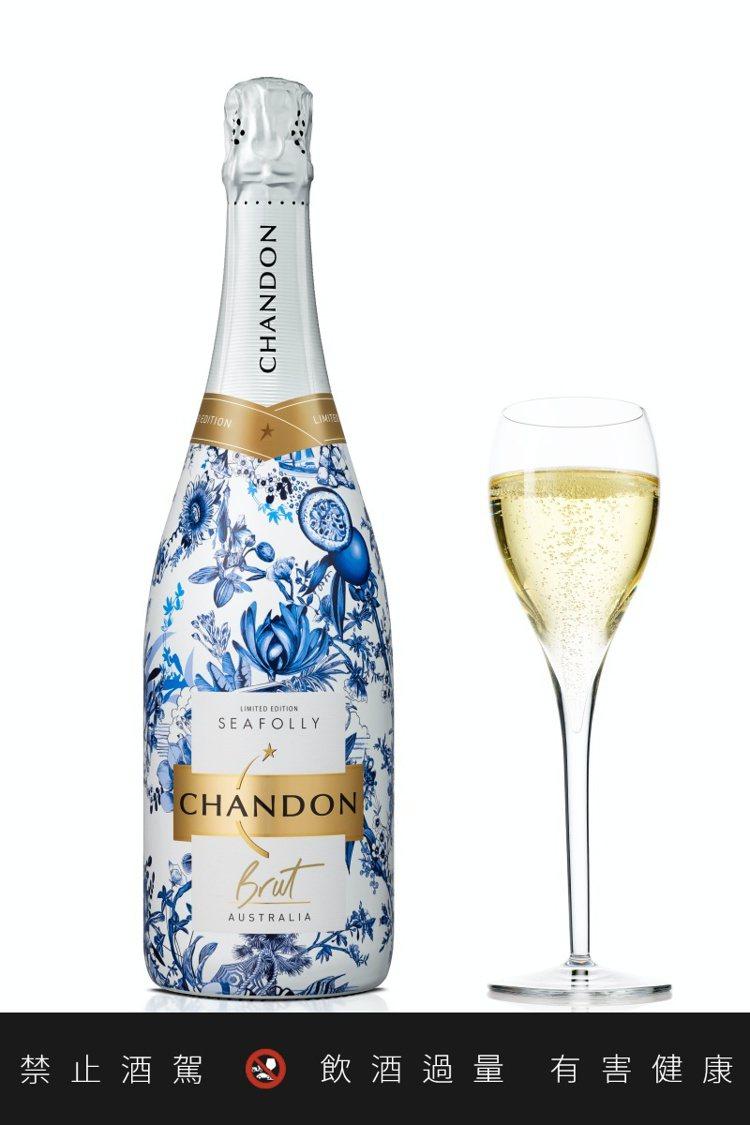 香桐2020夏季限量瓶汽泡酒750ml,建議售價990元。圖/酩悅軒尼詩提供