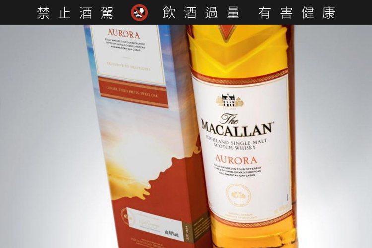 麥卡倫澄光是台灣免稅通路獨賣,建議零售價美金80元,約合台幣2350元。圖/麥卡...