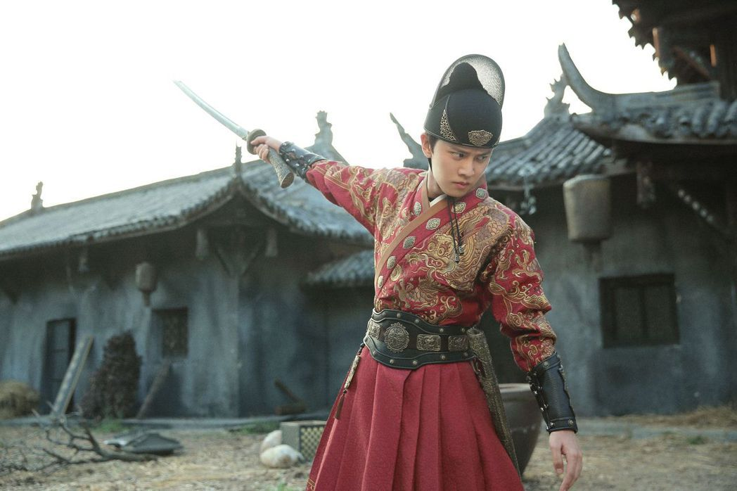 任嘉倫在「大明錦衣衛」飾演心狠手辣的錦衣衛陸繹。圖/中天娛樂台提供