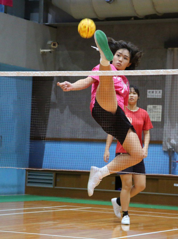 連續三屆入選潛優培訓,阮鈺棋今年將就讀國立台東大學。圖/中華民國藤球協會提供