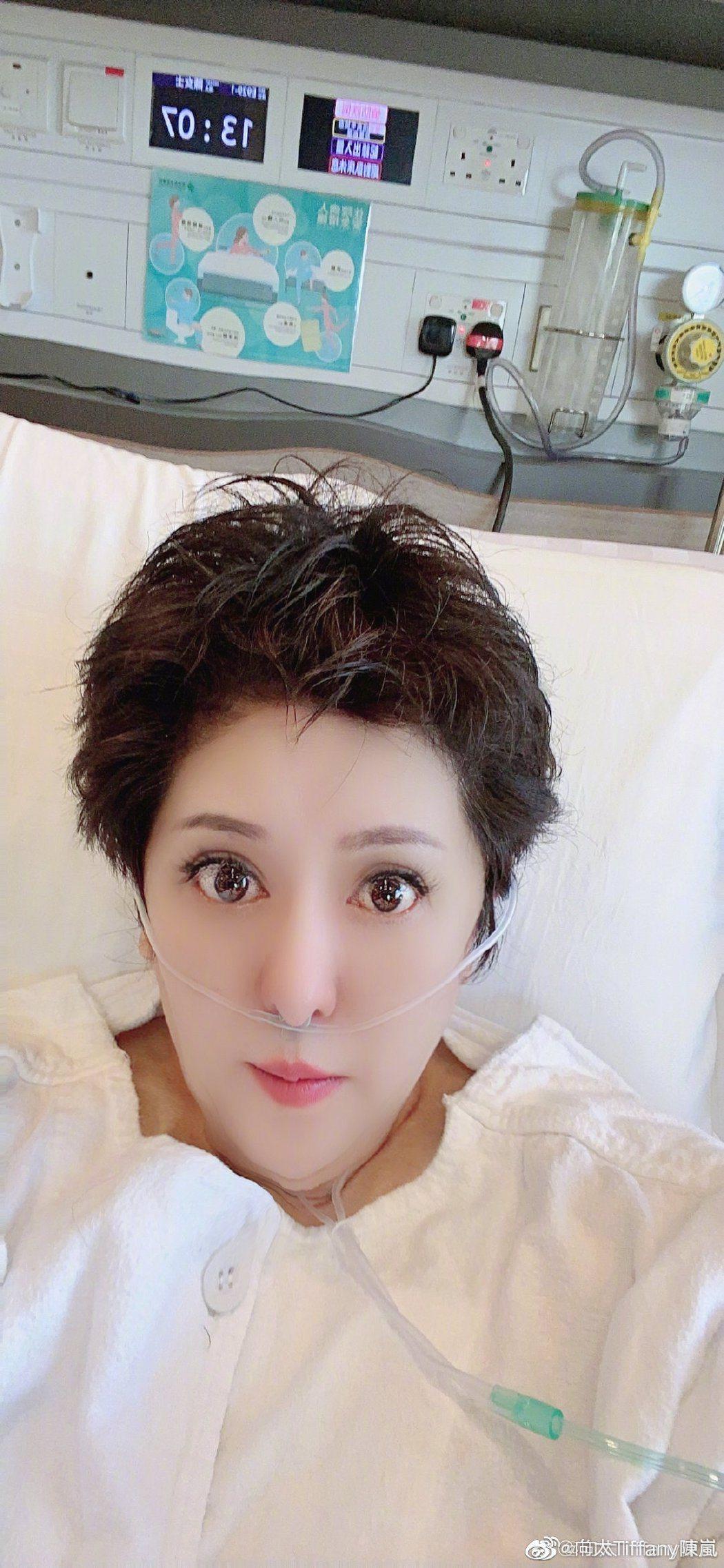 向太透露上周心肌梗塞送醫手術。圖/擷自微博