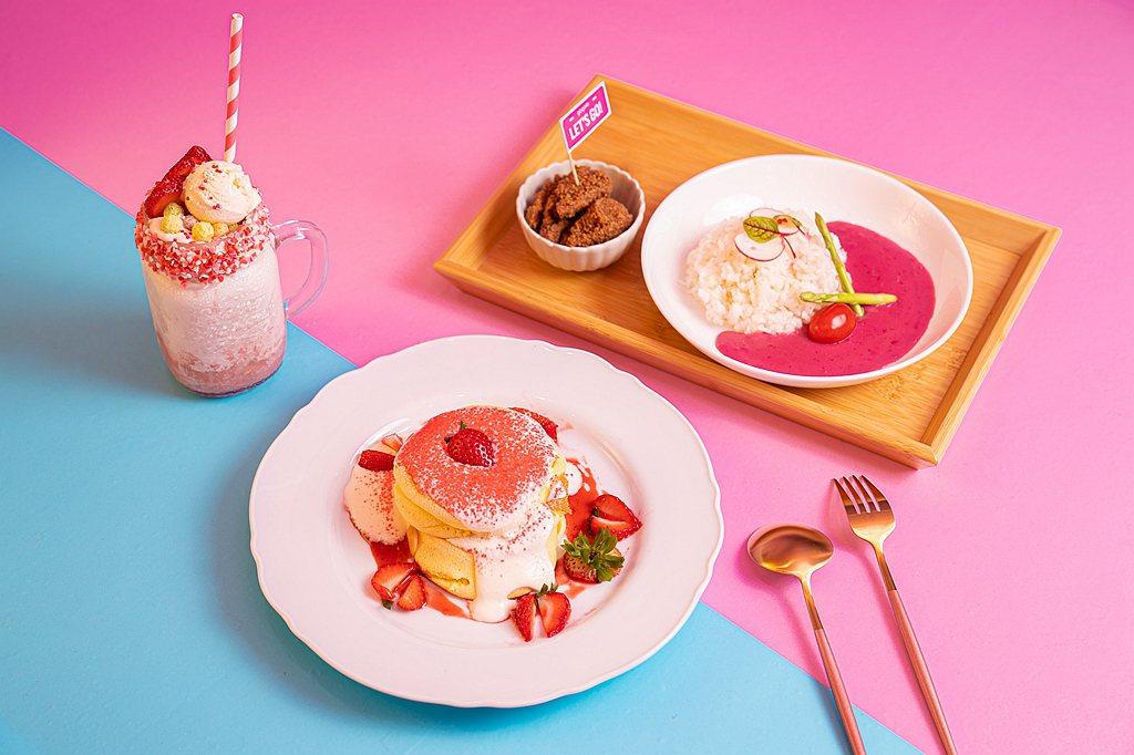 與知名Boogoo Café布咕咖啡和深夜裡的法國手工甜點合作,推出Gogoro...