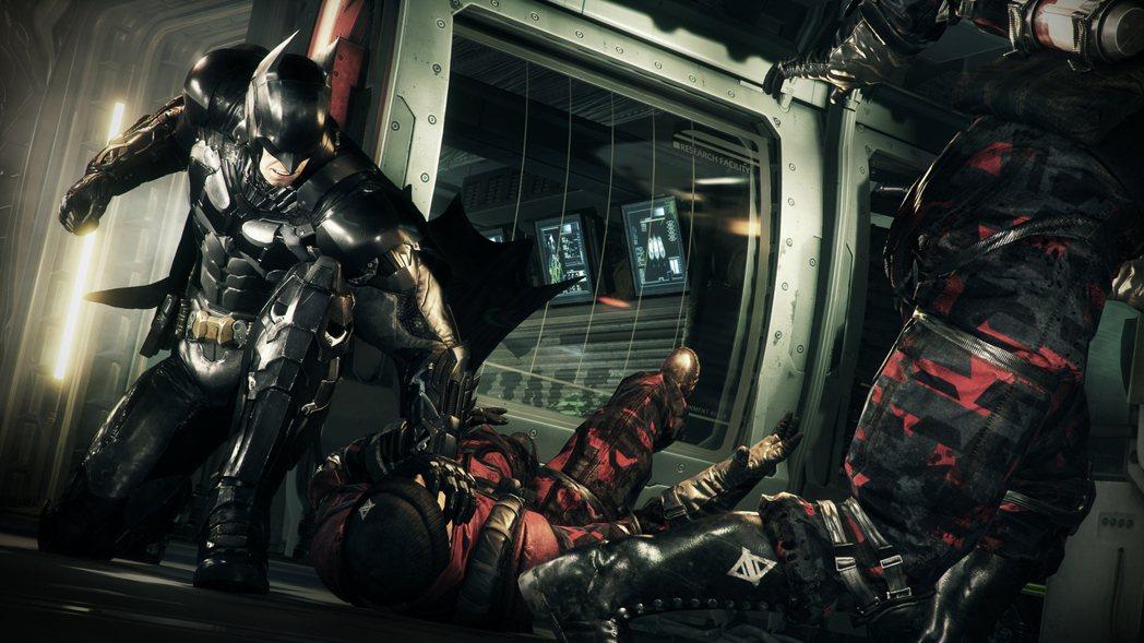 圖片為《Batman: Arkham Knight》遊戲畫面,並非新作。