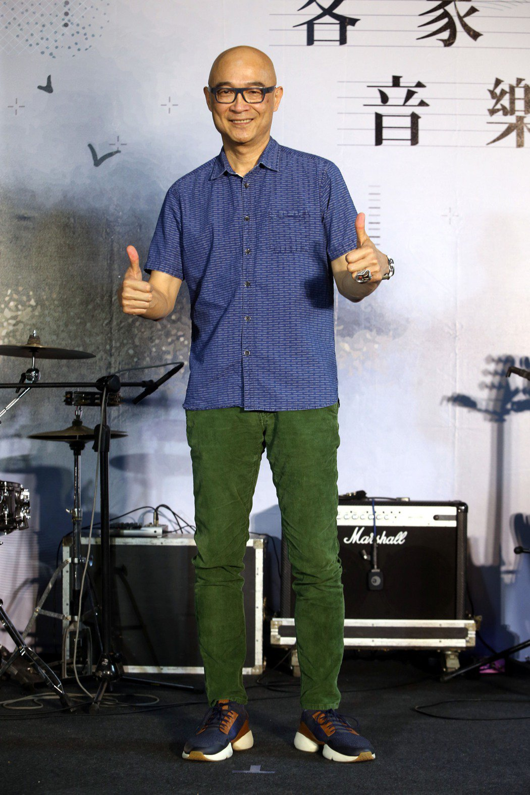 王治平出席「2020客家流行音樂大賽」記者會。記者邱德祥/攝影