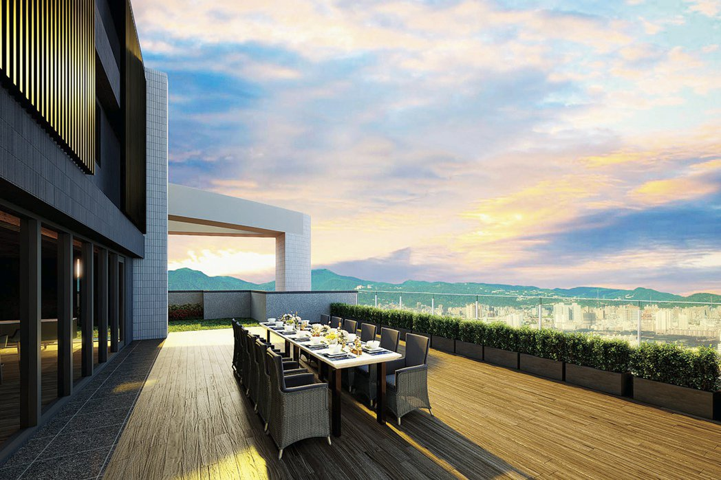 「冠德泰極」擁有600坪豪華公共設施。圖/冠德建設提供