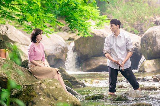 林秀香拍攝新戲「當我最漂亮的時候」傳出摔傷意外。圖/擷自MBC官網
