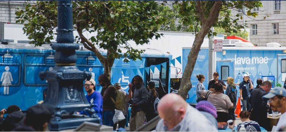 LavaMae是一間位於美國加州的非營利組織,就採用「激進款待」(radical...