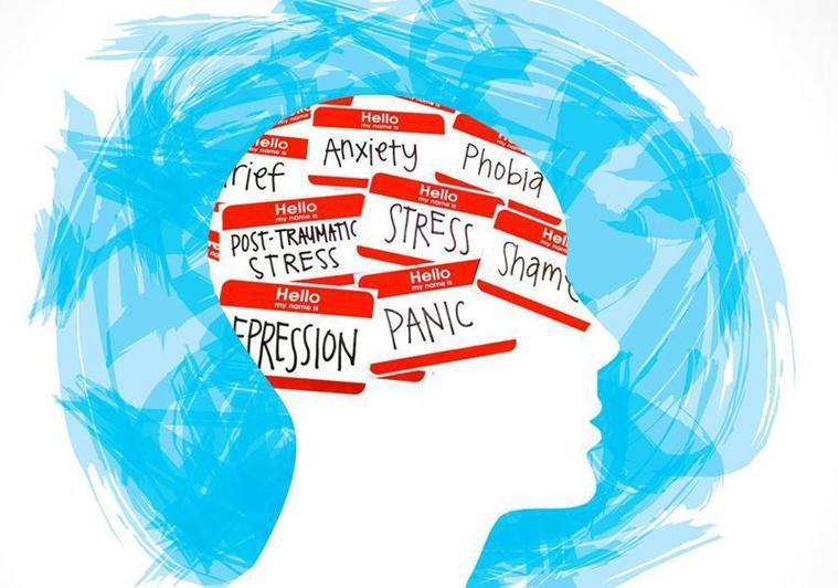 疫情期間人們的心理狀態不穩定,容易負面思考,專家建議應積極尋求協助。(photo...
