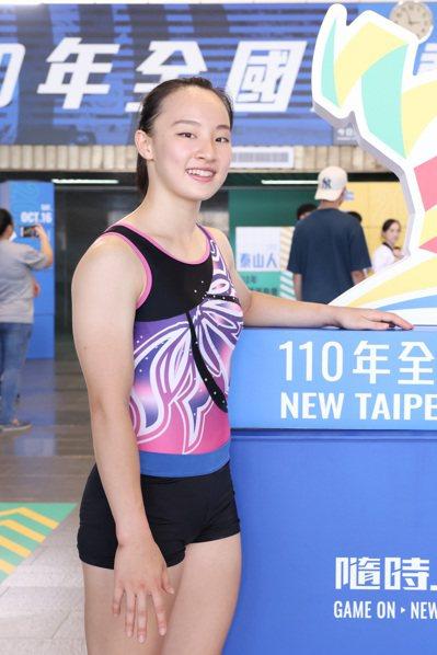 全運會籌備處成立儀式,體操奧運國手丁華恬出席。記者季相儒/攝影