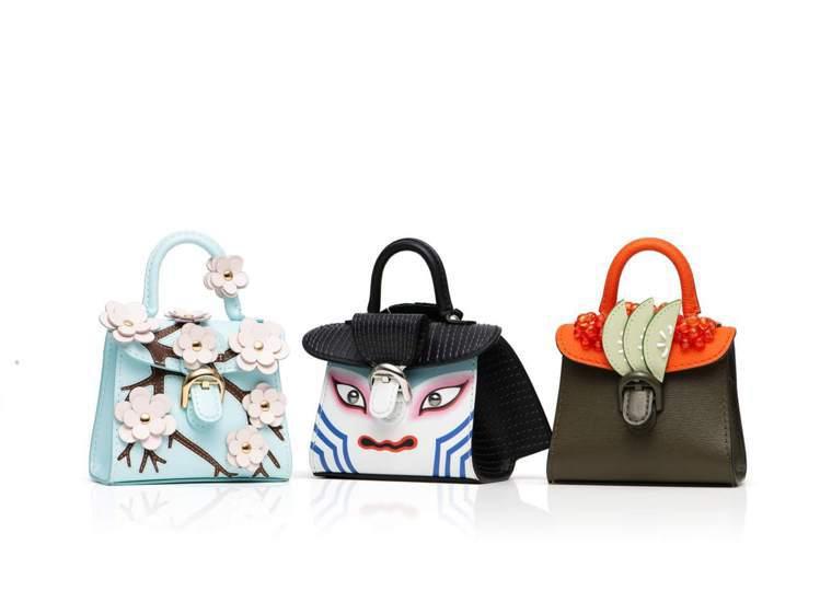 DELVAUX Les Miniatures迷你掌中小手袋推出日本版。圖/取自f...