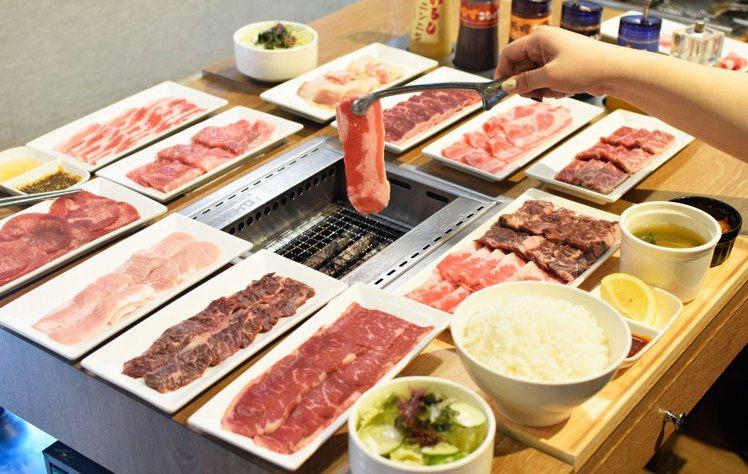 燒肉like將於8月29日推出全肉品加點半價的優惠。圖/燒肉like提供