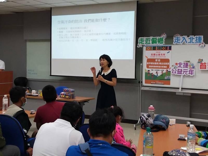 台北市長柯文哲妻子陳珮琪表示,柯粉逐漸龐大有部分是因為她的緣故。圖/北捷提供