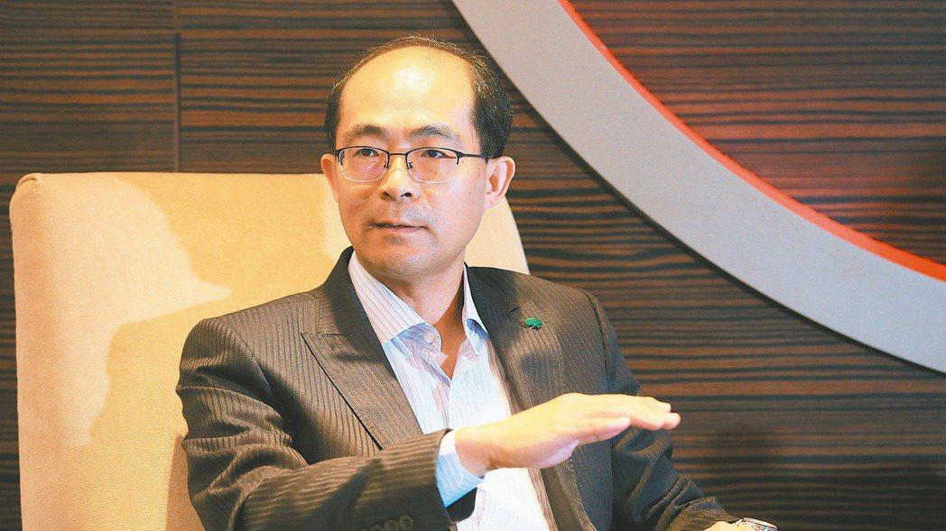 國泰人壽副總林士喬 記者潘俊宏/攝影