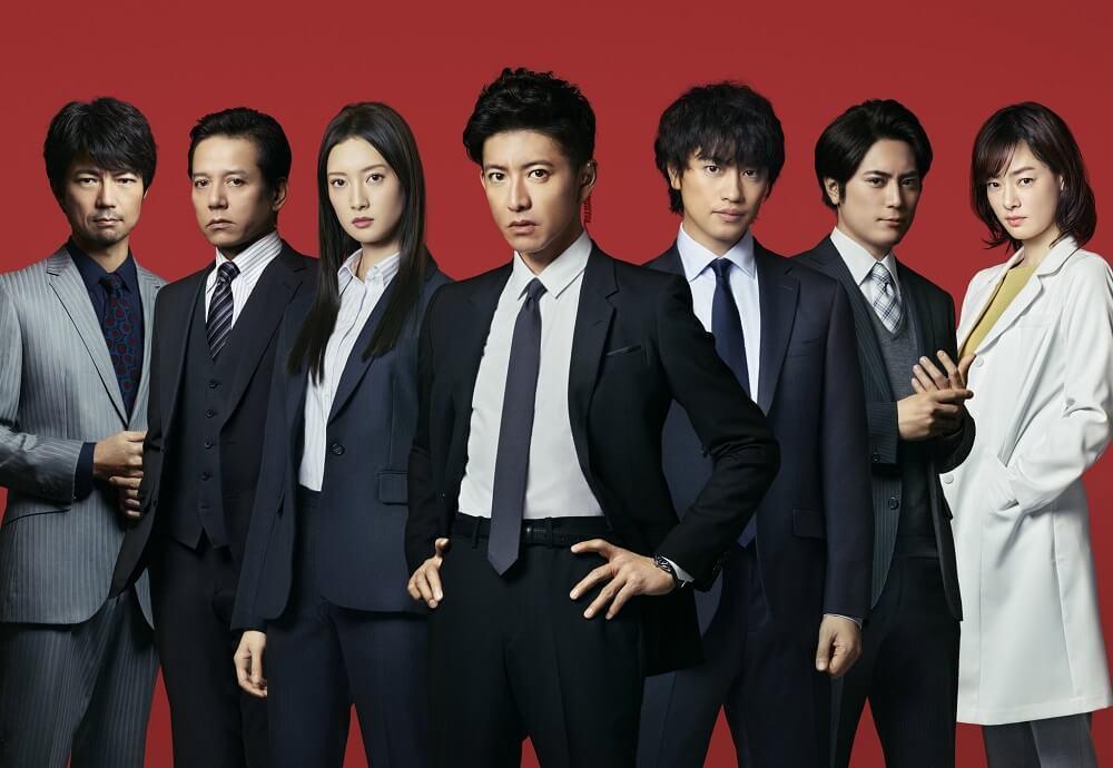 《BG終極保鏢2》由木村拓哉主演、井上由美子編劇,卡司堅強。 圖/テレビ朝日