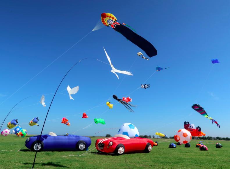 2020新竹市國際風箏節金年邁入第四個年頭。 圖/新竹市國際風箏節官網