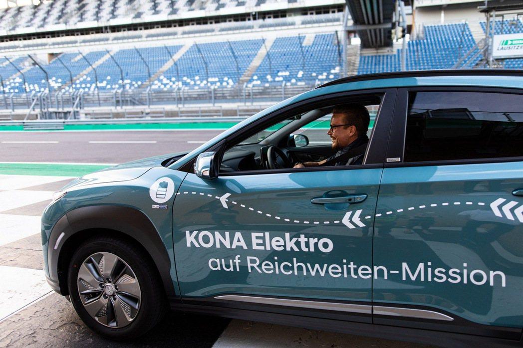 市售版的Hyundai Kona Electric在歐洲WLTP標準測試之下,擁...