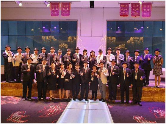 會員大會以上海風呈現。 台中市旅館商業同業公會/提供
