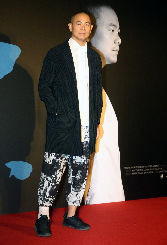 紀錄電影《初心》舉行首映會,米其林名廚江振誠出席。記者胡經周/攝影