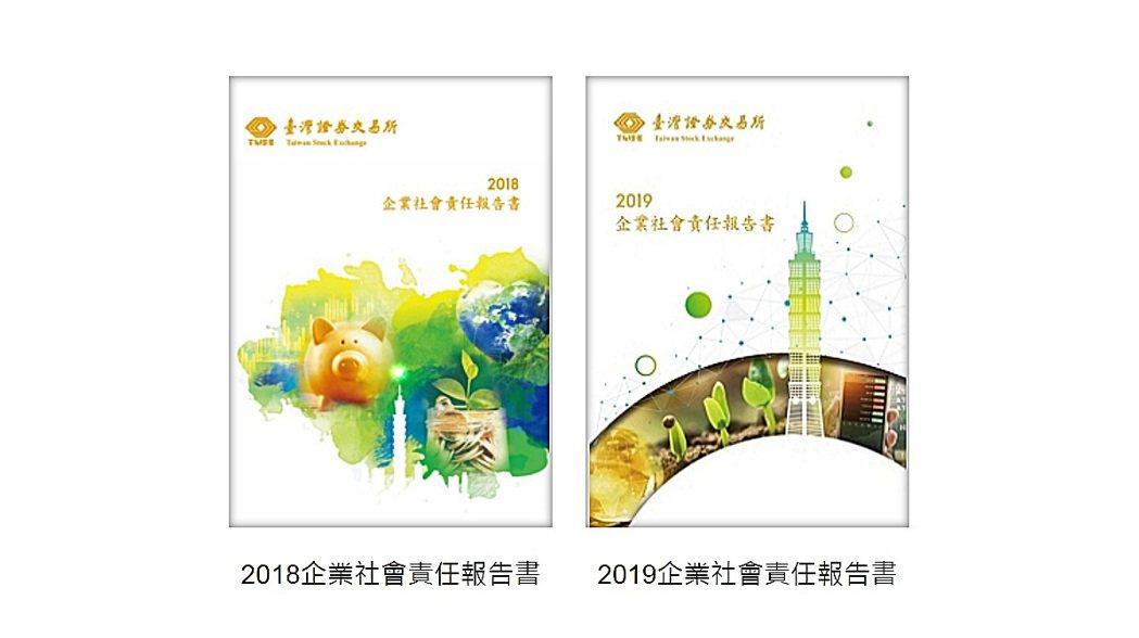 台灣證交所發布中英文版2019年度企業社會責任(CSR)報告書,為連續兩年發布C...