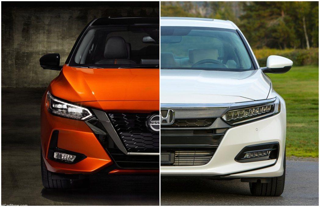 摘自Honda、Nissan