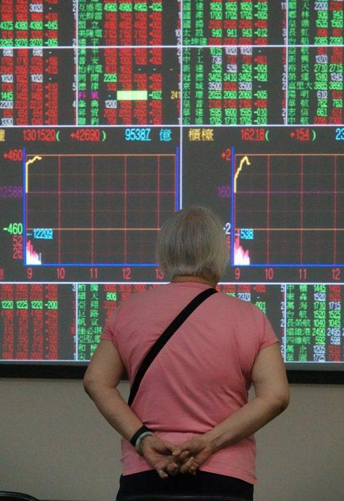 台股近期高價股漲多熄火,由非主流股進行接棒演出。 聯合報系資料照/記者曾吉松攝影
