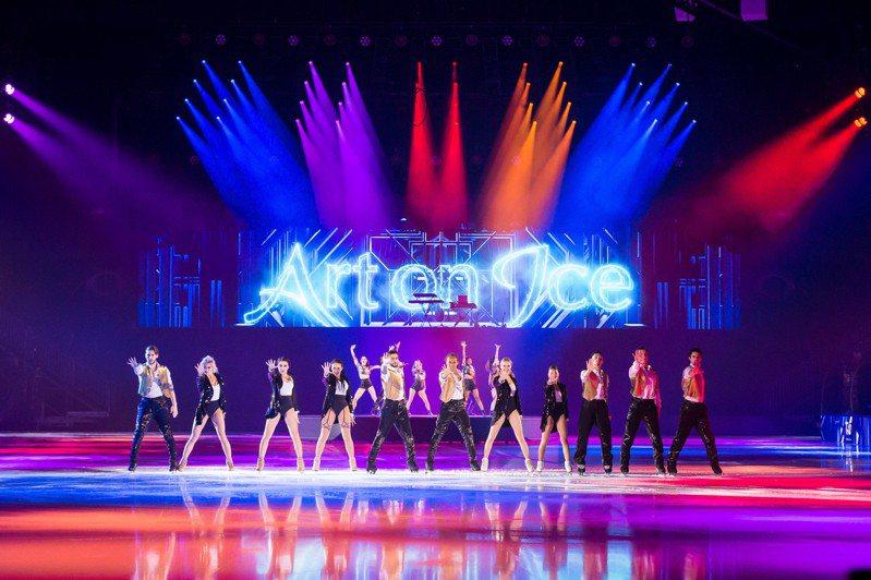 「Art on Ice歌舞冰上」歐洲巡演劇照。圖/聯合數位文創提供