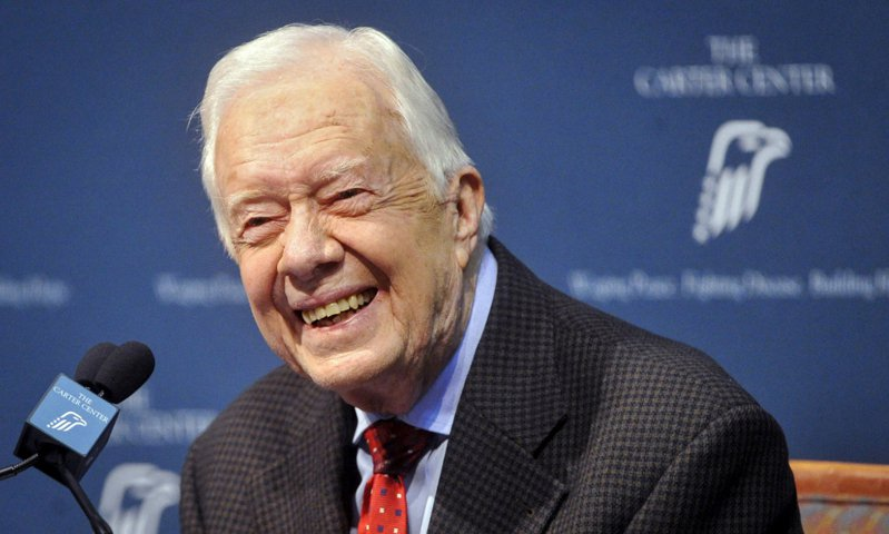 美國前總統卡特(Jimmy Carter)將為準總統候選人拜登站台。 路透社資料照片