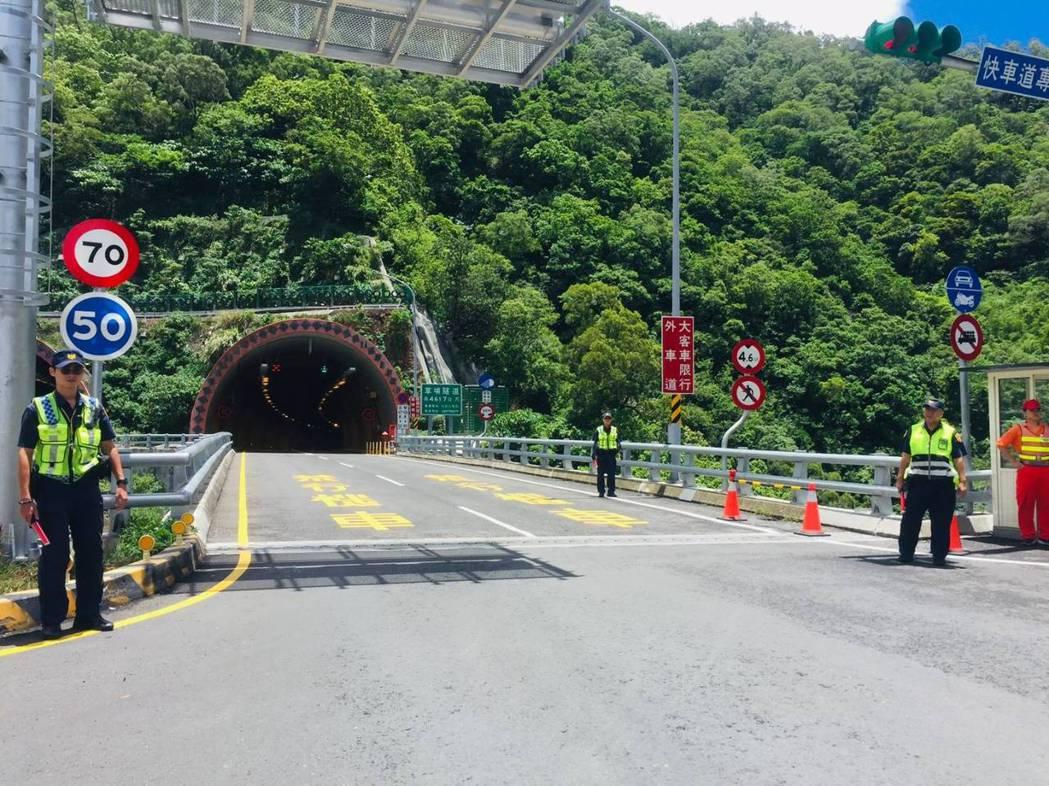 獅子鄉台9線436.58K草埔隧道北向,今年1至7月底,測速相機取締共1萬323...