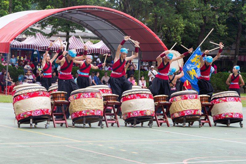 花蓮縣瑞穗鄉富源村每年舉辦鼓王爭霸戰,是全台客庄盛事。圖/花蓮縣政府提供