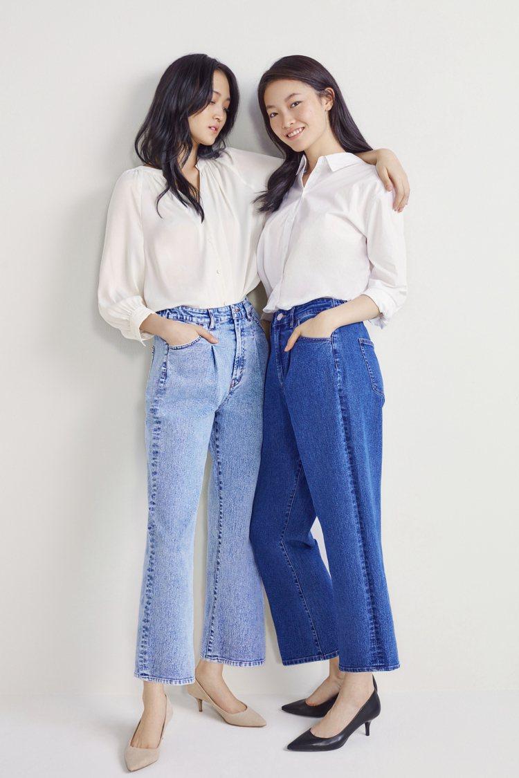 H&M集團所生產的每條「綠色」丹寧褲可省下35公升的水資源。圖/H&M提供
