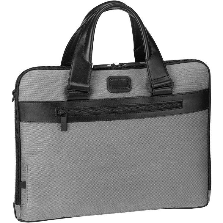 可收納13吋筆電的薄型公事包,除了可與4810系列行李箱搭配使用,另有內建辨視機...
