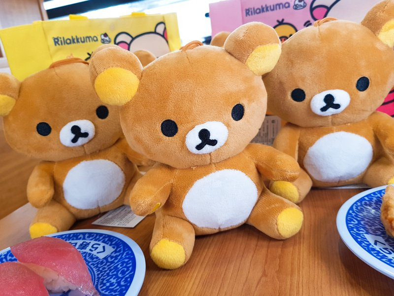 藏壽司將於信義att店推出滿額贈拉拉熊玩偶的活動。記者陳睿中/攝影