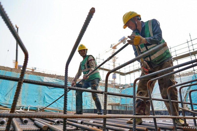 圖為河北雄安新區近日施工畫面。新華社