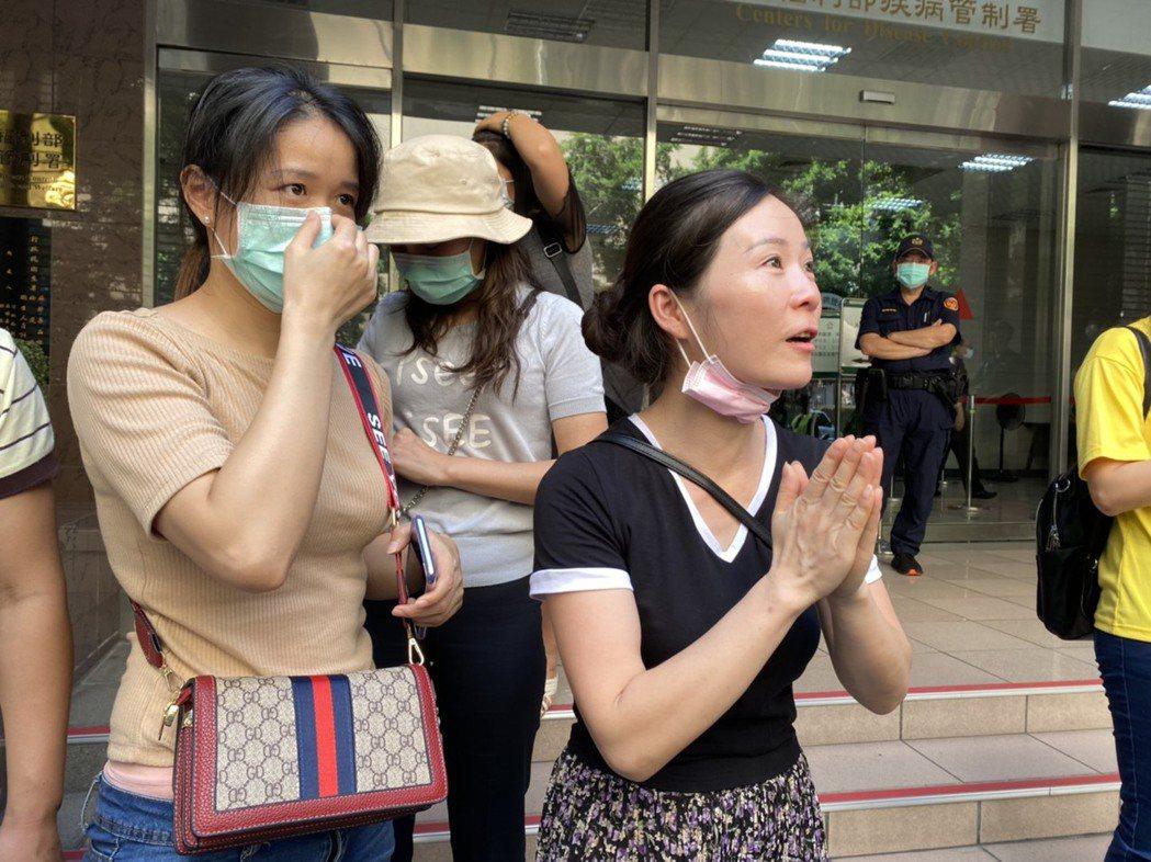 小明父母期盼放寬小明來台的政策不會髮夾彎。記者呂佳蓉/攝影