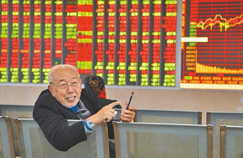 截至7月底,A股市場總共新增投資人達1,041.71萬。中新社