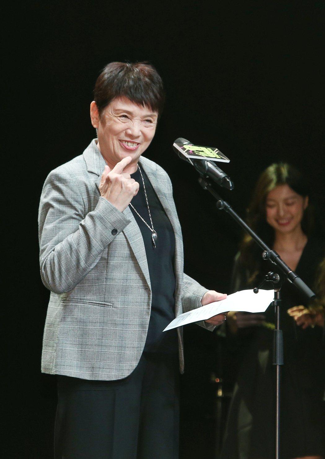 評審委員會主委羅小雲。記者曾原信/攝影