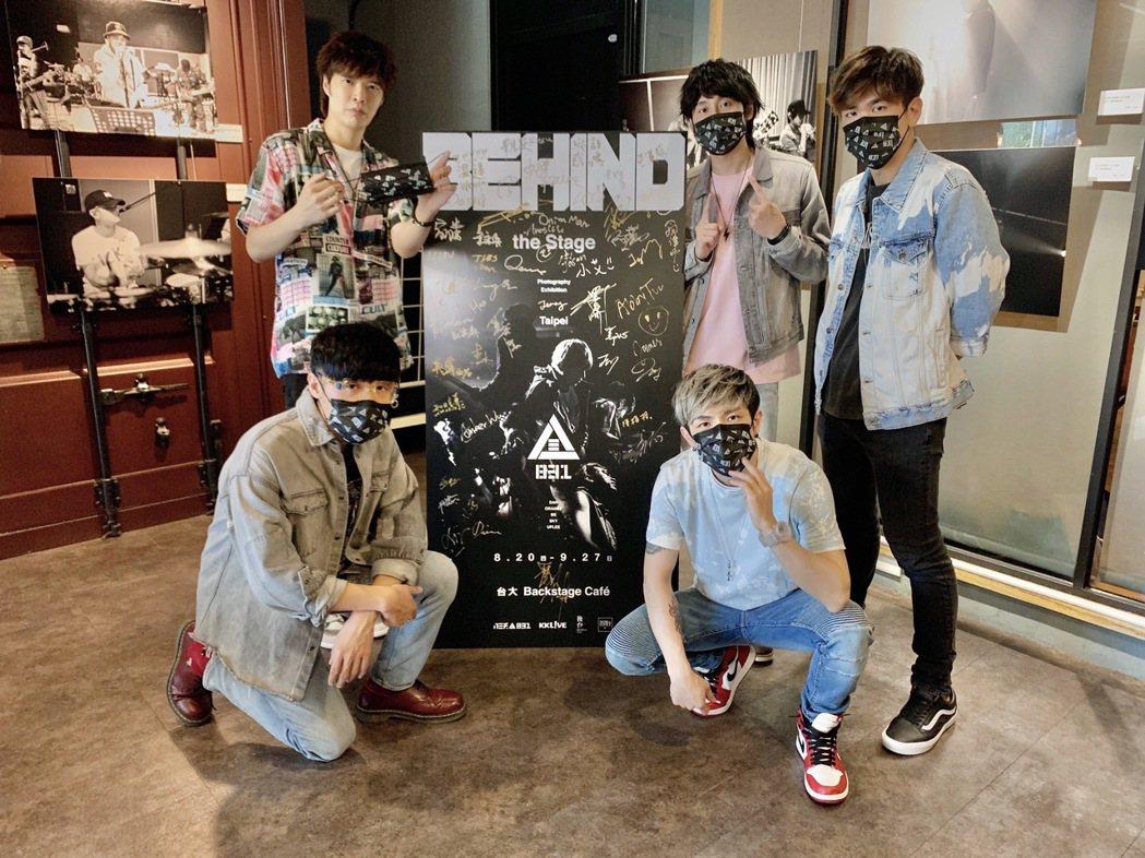 八三夭預告將在演唱會發放「八三夭特製款」中衛口罩。圖/KKLIVE提供